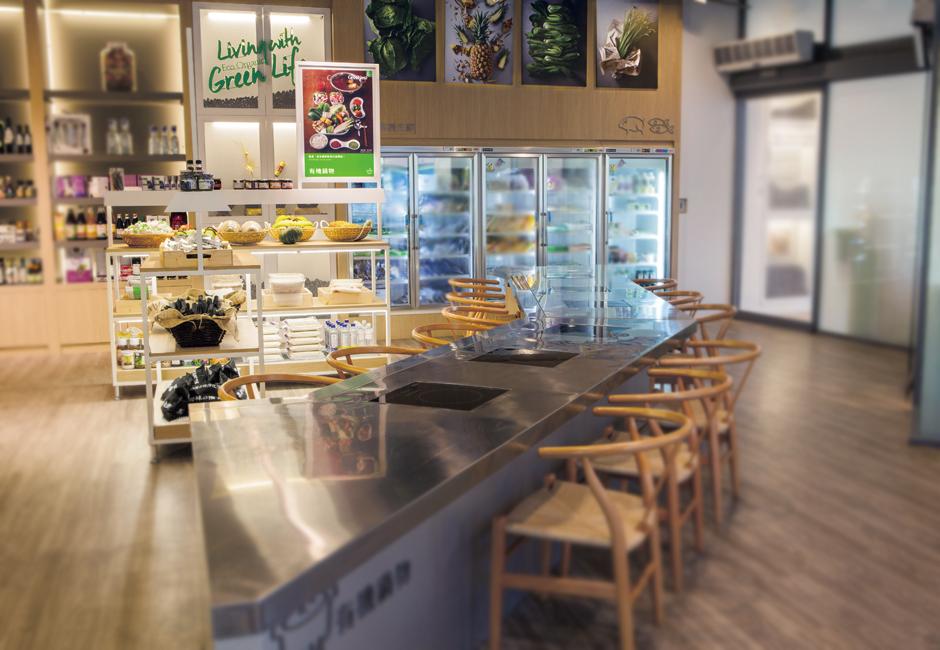 绿之巣有机农产品销售店铺SI空间设计13