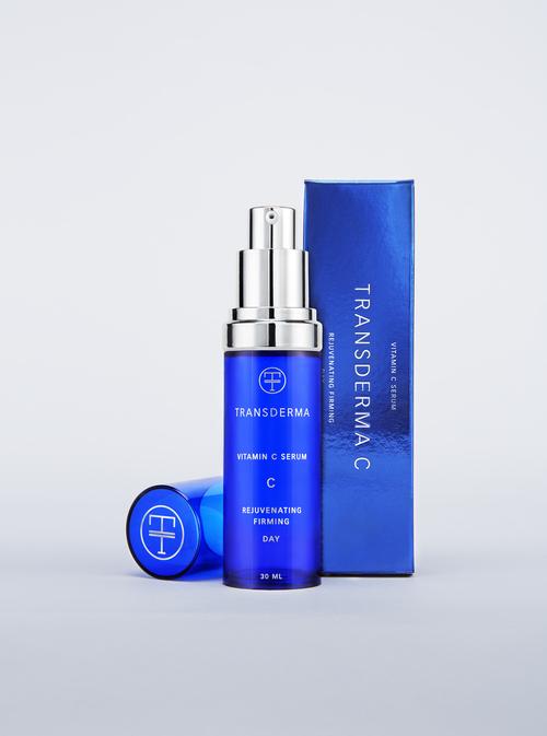 Transderma 皮肤护理化妆品标志设计包装设计5