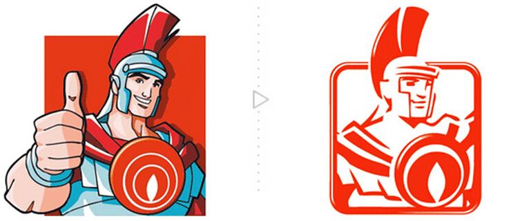儿童科技节logo设计图展示