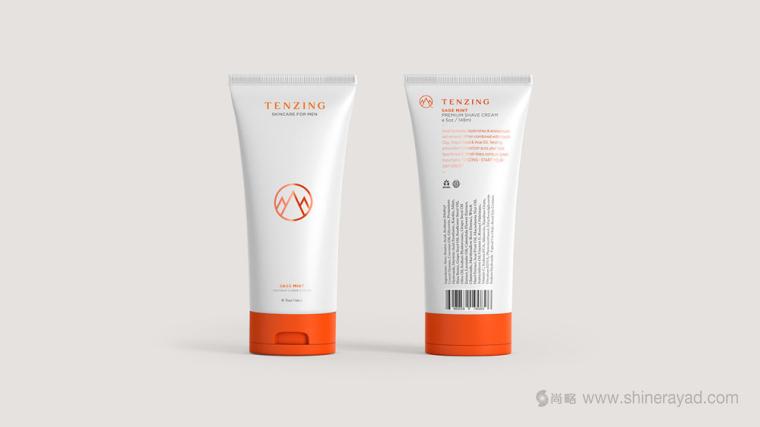 Tenzing 男士护肤品品牌包装设计3