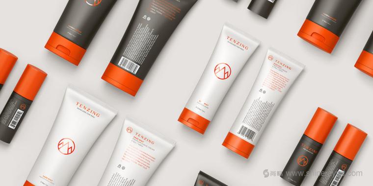 Tenzing 男士护肤品品牌包装设计1
