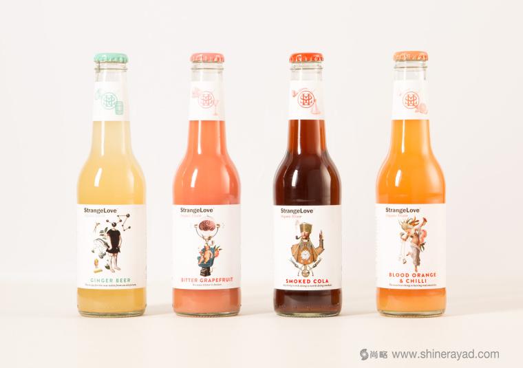 澳大利亚StrangeLove 能量饮料包装设计-上海包装设计公司国外包装设计欣赏2