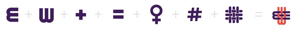 公益机构EmpowerWomen 妇女权益促进会标志设计概念元素4