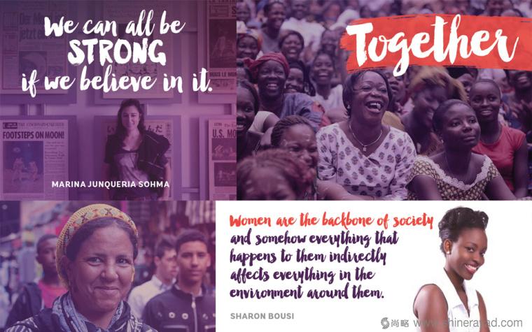 公益机构EmpowerWomen 妇女权益促进会标志设计品牌形象设计5