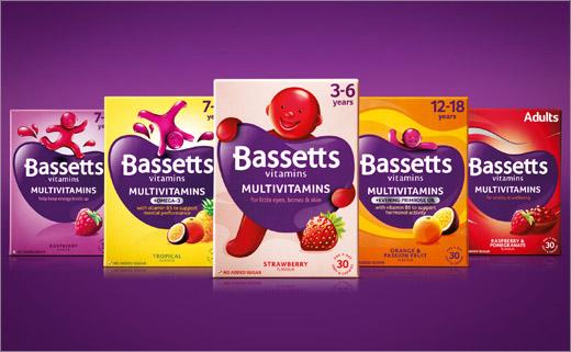 Bassetts儿童维生素品牌重塑包装设计1