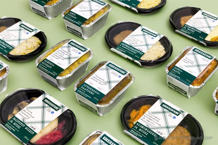 上海包装设计公司分享:Kokkikart便当快餐包装设计1