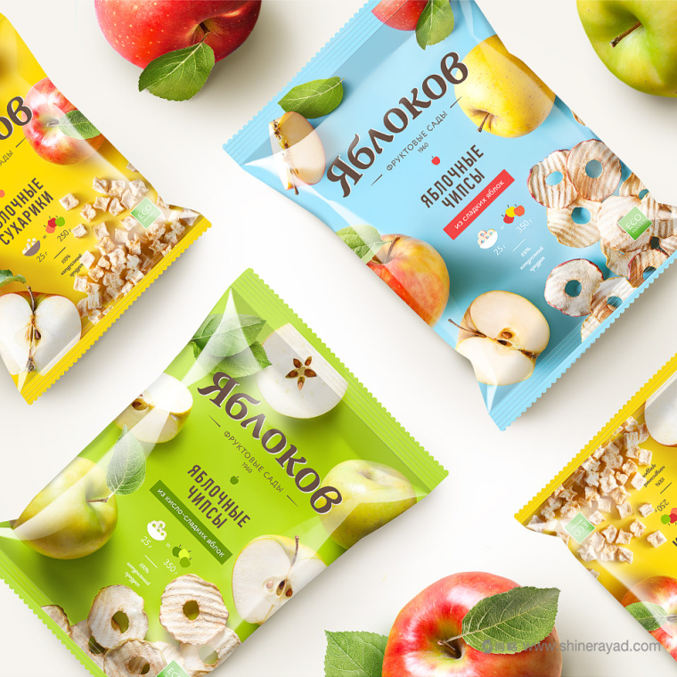 Yablok 有机苹果干零食包装设计-上海品牌策划设计公司-2