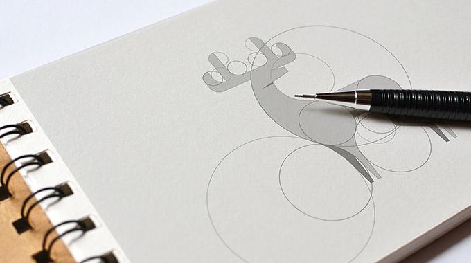 上海LOGO设计公司设计知识——什么是Logo网格,为什么我们要使用它1