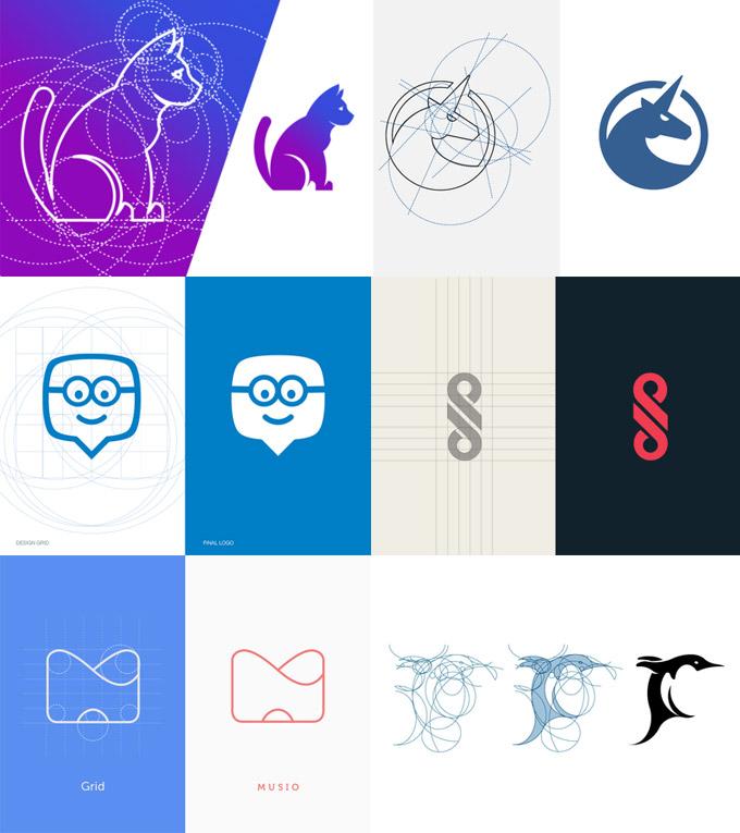 上海LOGO设计公司设计知识——什么是Logo网格,为什么我们要使用它3