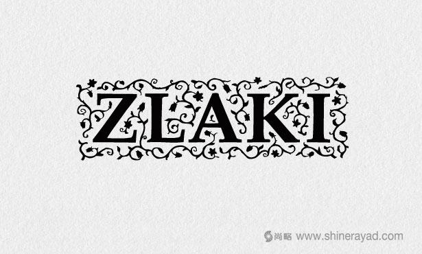 Zlaki凉茶logo设计-20个绝佳创意logo设计灵感-上海logo设计公司