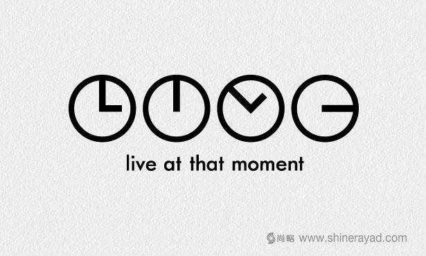 LIVE旅游俱乐部LOGO设计-20个绝佳创意Logo设计灵感-上海logo设计公司