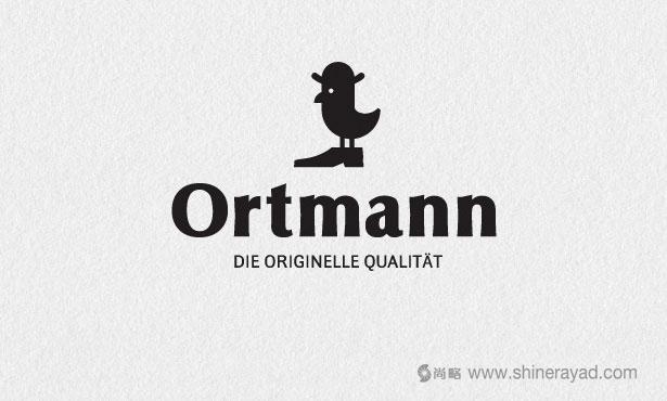 Ortmann矫形鞋LOGO设计-20个绝佳创意Logo设计灵感-上海logo设计公司