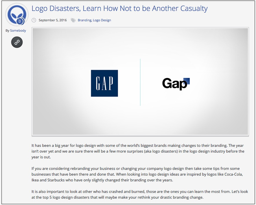 上海logo设计公司分享:6个世界上最惨重的logo设计和品牌重塑失败案例-GAP