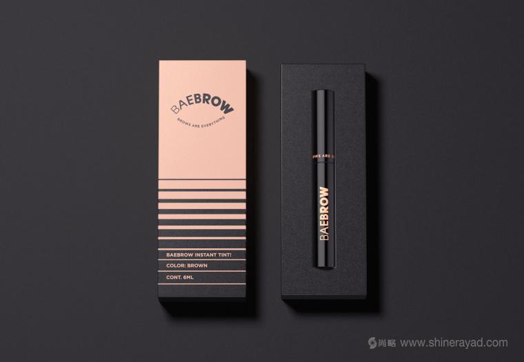 BAEBROW 画眉笔包装设计-上海包装设计公司-上海品牌设计公司