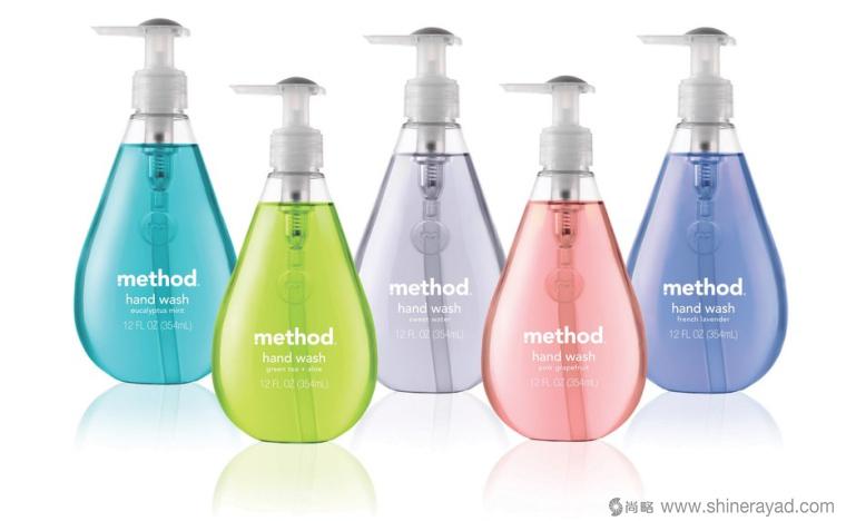 method清洁剂创意包装设计作品-上海包装设计公司