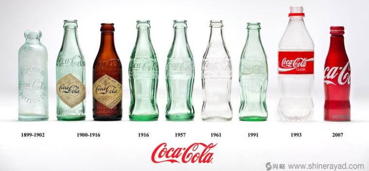 可口可乐瓶型设计包装设计-上海包装设计公司