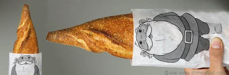 趣味面包创意包装设计-上海包装设计公司