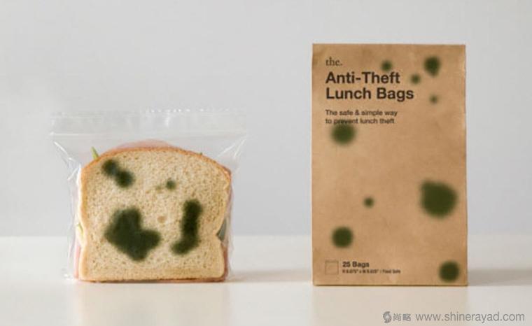 顽皮的塑料垃圾袋面包发霉篇创意包装设计-上海包装设计公司