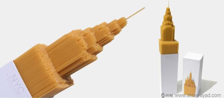 意大利面摩天大楼篇创意包装设计-上海包装设计公司