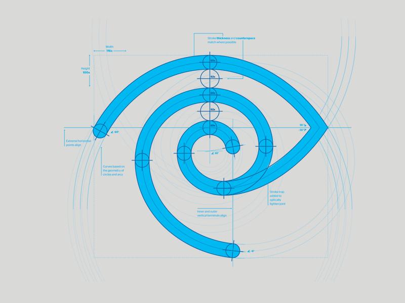 上海标志设计公司标志设计的几种标准化制图方法2