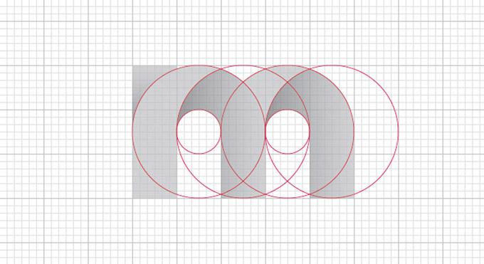上海标志设计公司标志设计的几种标准化制图方法3