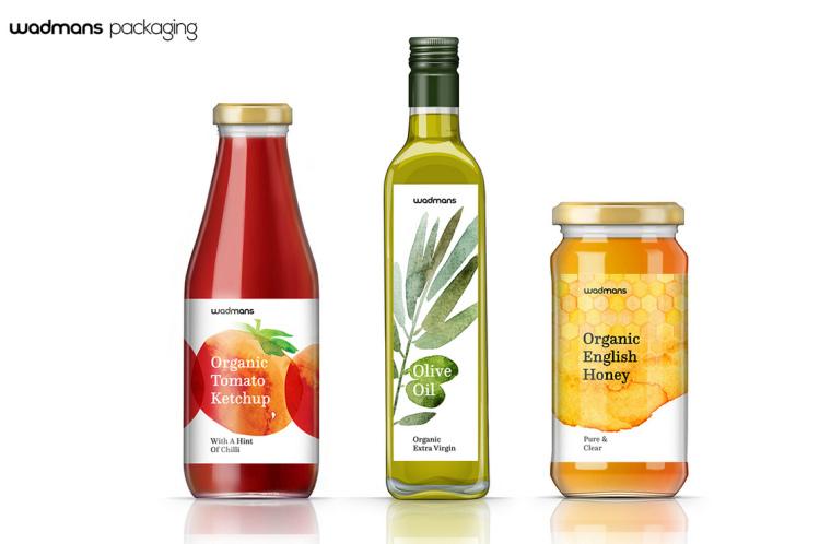 上海包装设计公司-水彩画 Wadmans 有机食品农产品包装设计3