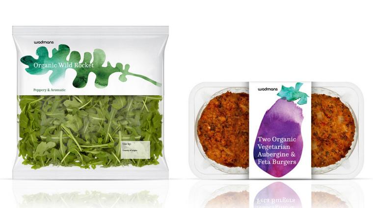 上海包装设计公司-水彩画 Wadmans 有机食品农产品包装设计4