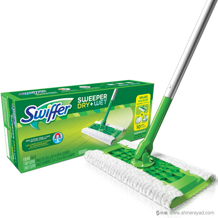上海包装设计公司-Swiffer清洁拖把品牌包装设计6