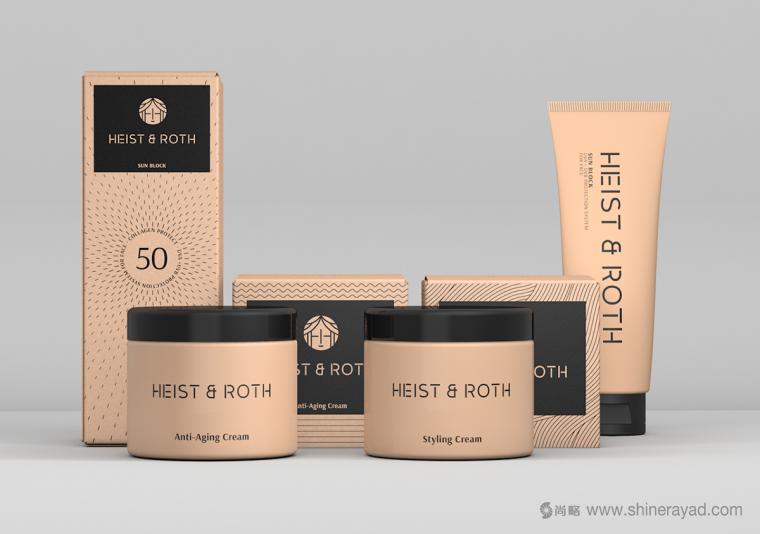 Heist & Roth 化妆品护肤品包装设计-上海包装设计公司3