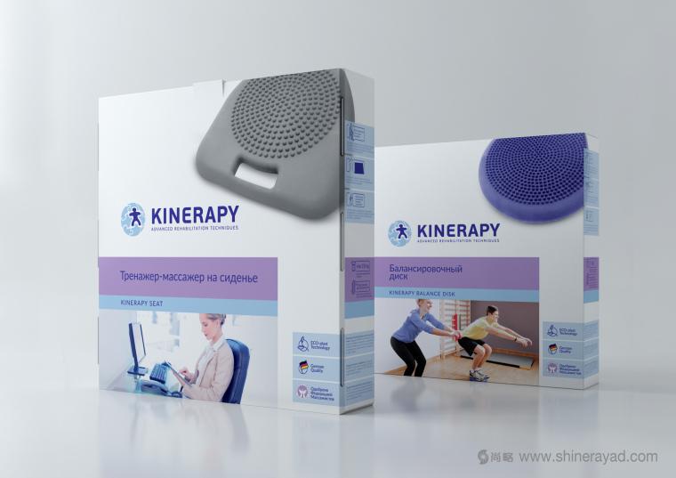 KINERAPY 运动康复医疗产品包装设计