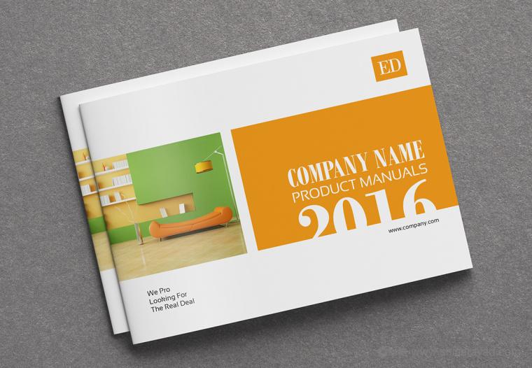 上海画册设计公司设计欣赏:创意办公家具宣传画册设计1