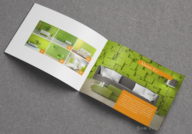上海画册设计公司设计欣赏:创意办公家具宣传画册设计2