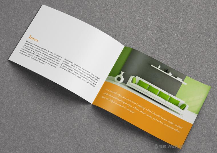 上海画册设计公司设计欣赏:创意办公家具宣传画册设计3