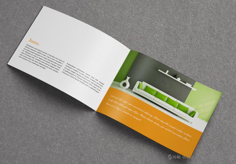 上海画册设计公司设计欣赏:创意办公家具宣传画册设计4