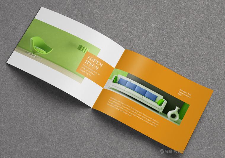 上海画册设计公司设计欣赏:创意办公家具宣传画册设计5