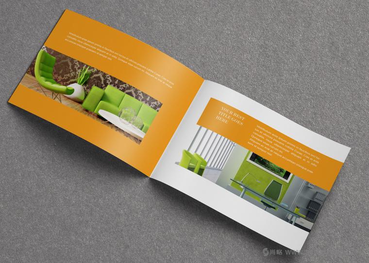 上海画册设计公司设计欣赏:创意办公家具宣传画册设计6