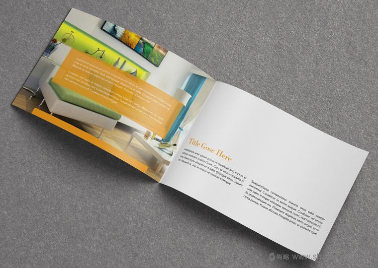 上海画册设计公司设计欣赏:创意办公家具宣传画册设计7