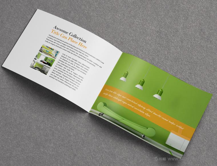 上海画册设计公司设计欣赏:创意办公家具宣传画册设计11