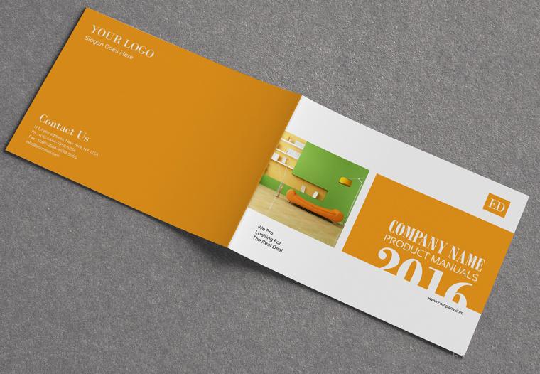 上海画册设计公司设计欣赏:创意办公家具宣传画册设计13