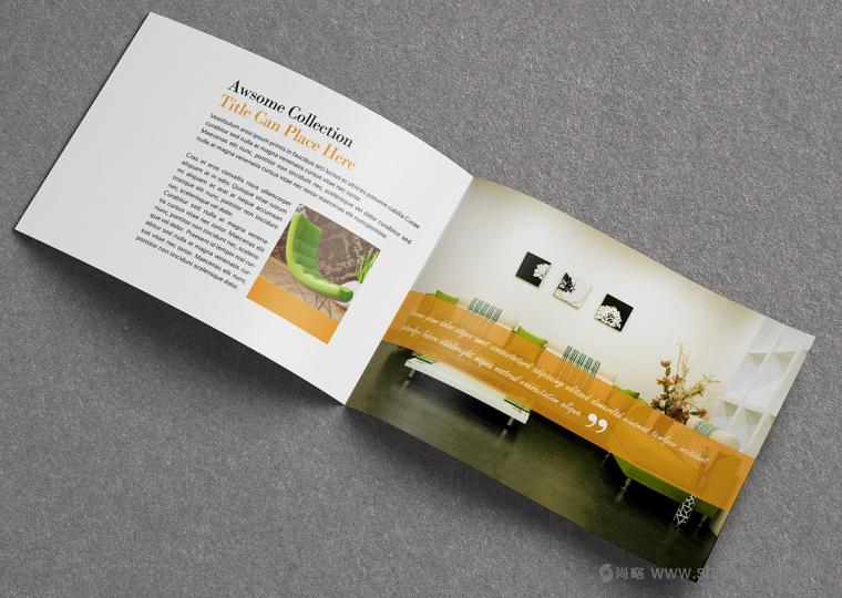上海画册设计公司设计欣赏:创意办公家具宣传画册设计10