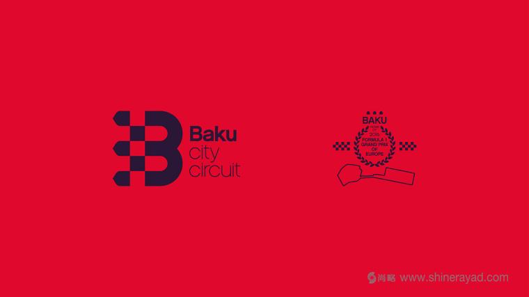 Baku 城市赛车比赛活动logo设计-上海logo设计公司-上海品牌设计公司5