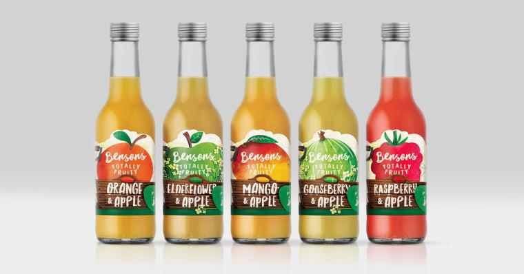 BENSONS 有机农场自产果汁包装设计-上海包装设计公司2