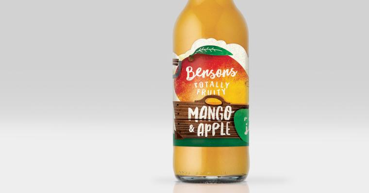 BENSONS 有机农场自产果汁包装设计-上海包装设计公司3