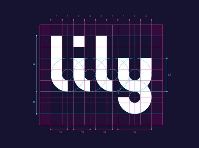 Lily字体英文软件logo设计课程字体设计设计-上肉品加工厂标准制图图片