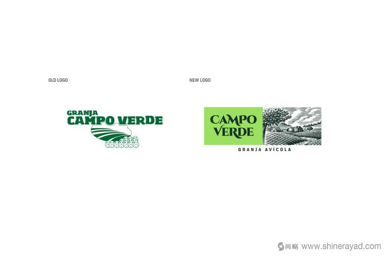 Campo Verde 鸡蛋农场logo设计VI设计-上海logo设计公司2