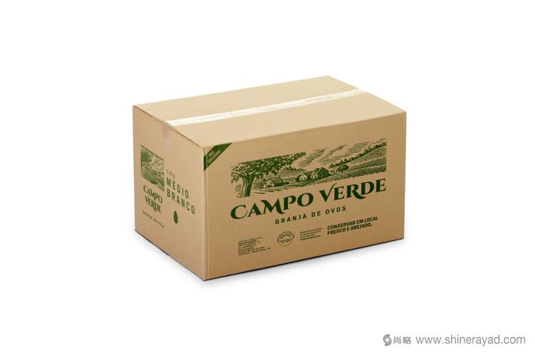鸡蛋主视觉插画设计与鸡蛋纸箱包装设计-上海包装设计公司10