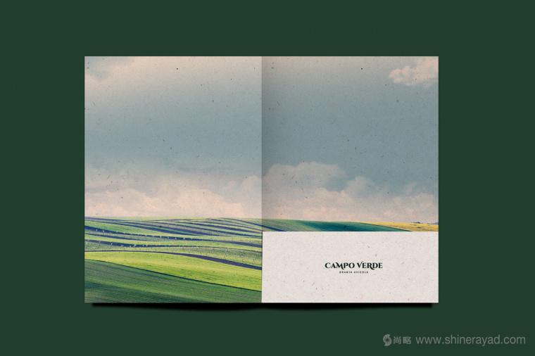 Campo Verde 鸡蛋农场logo设计VI设计-上海logo设计公司8