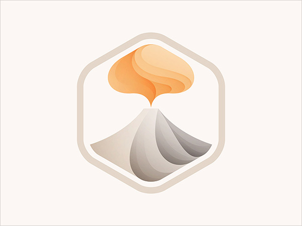 上海标志设计公司欣赏:28个重叠渐变色标志设计理念案例