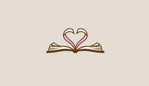 书+心形标志设计-上海标志设计公司