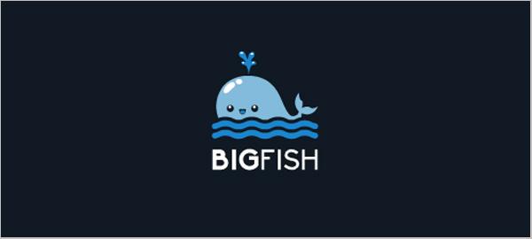 水标志设计图片-水和鱼标志设计